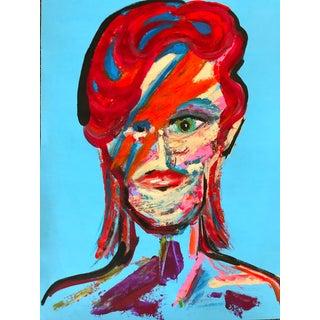 Expressionist David Portrait Painting For Sale