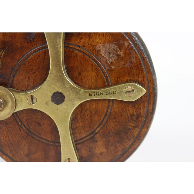 Industrial Eton Sun Wooden Fishing Reel For Sale - Image 3 of 3