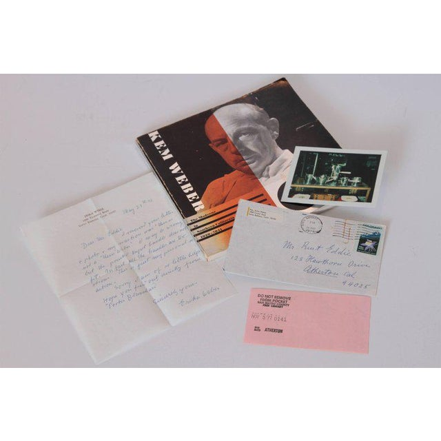 1970s KEM Weber the Moderne in Southern California, 1920-1941 Monograph with Ephemera For Sale - Image 5 of 11
