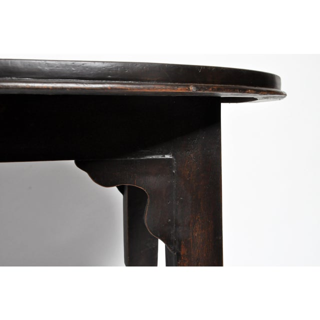 British Colonial Burmese Round Table For Sale - Image 10 of 11