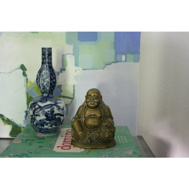 Vintage Brass Seated Buddha - Image 6 of 6