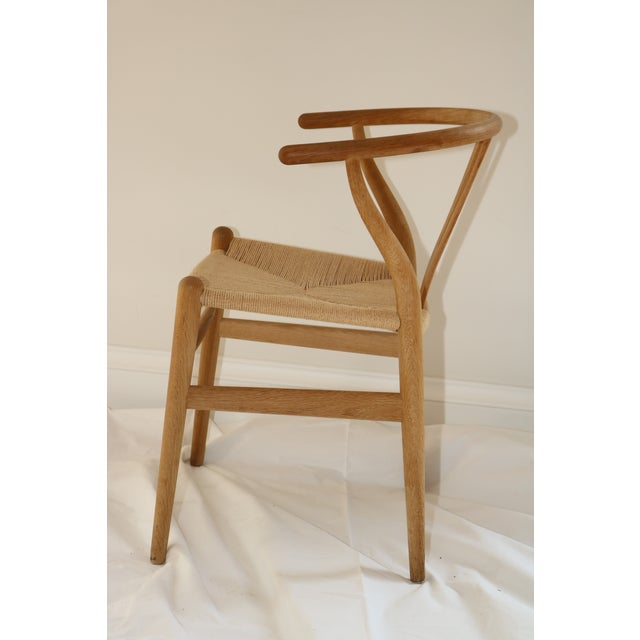 Hans Wegner for Carl Hansen & Son Ch24 Wishbone Chairs - Set of 8 For Sale - Image 10 of 13