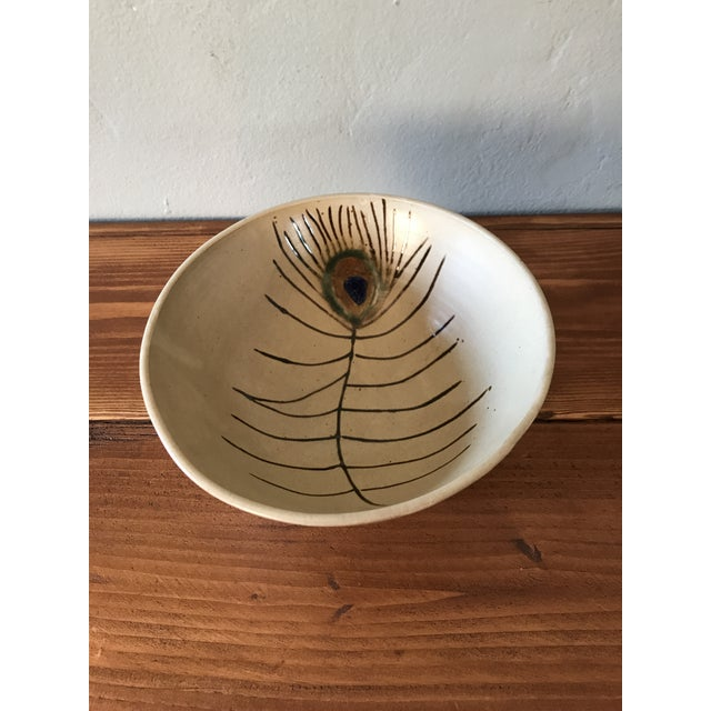 Mid-Century Modern Studio Pottery Bowl For Sale - Image 4 of 6