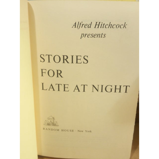 Alfred Hitchcock Presents Stories for Late at Night Book - Image 4 of 6