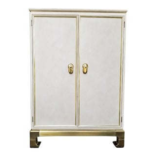 1970s Mastercraft Ming Cabinet For Sale