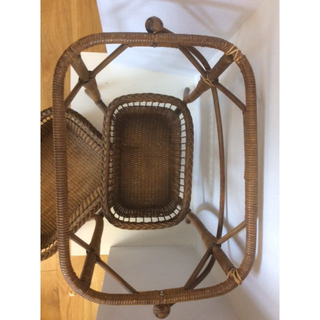 Rattan Basket Stand - Image 6 of 11