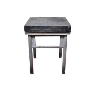 17th Century Chinese Stone Top Incense Table From the Qing Dynasty For Sale