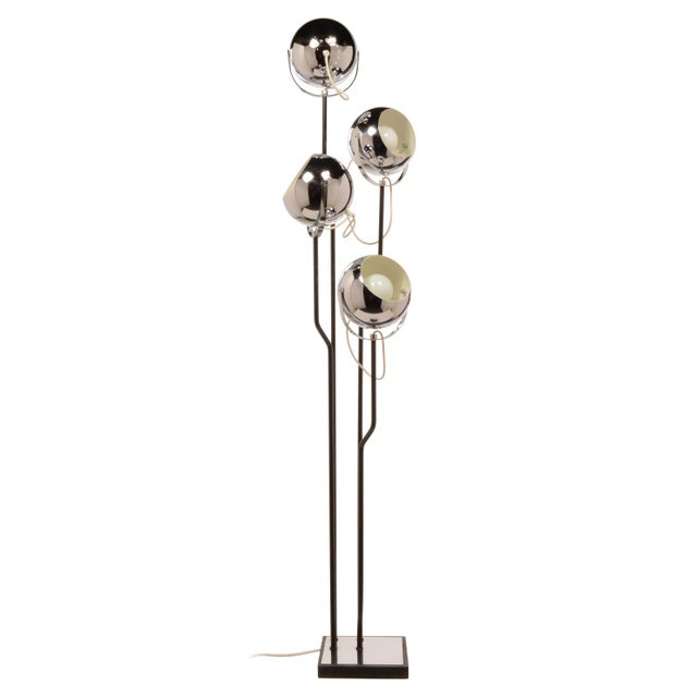 Vintage Goffredo Reggiani Floor Lamp, Italian For Sale - Image 9 of 9