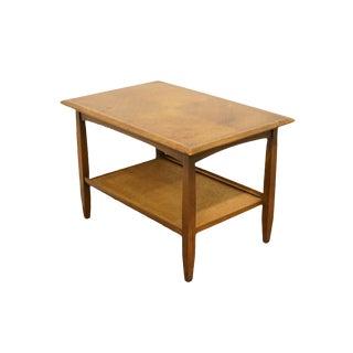 Vintage Mid-Century Bassett Furniture Mid-Century Modern Side Table For Sale