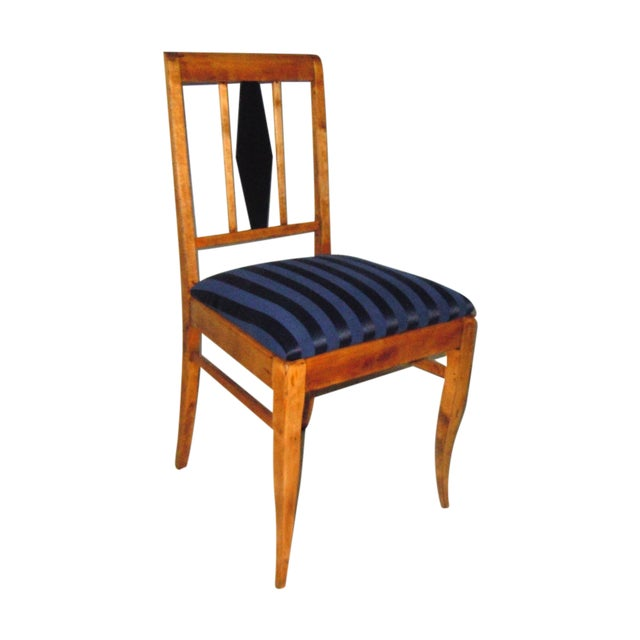 19th C. Swedish Single Side Chair - Image 1 of 6