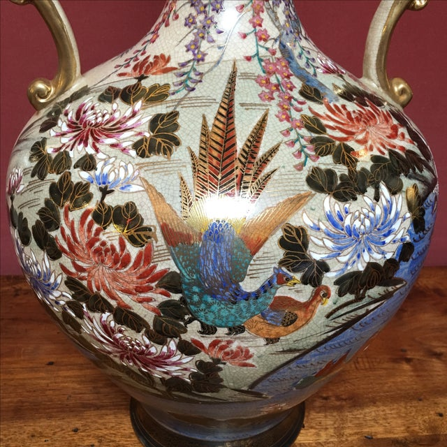 Hand Painted Japanese Imari Vase - Image 7 of 11