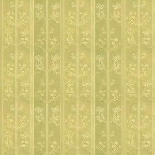Sample, Suzanne Tucker Home Pagoda Silk Fabric in Citrine For Sale