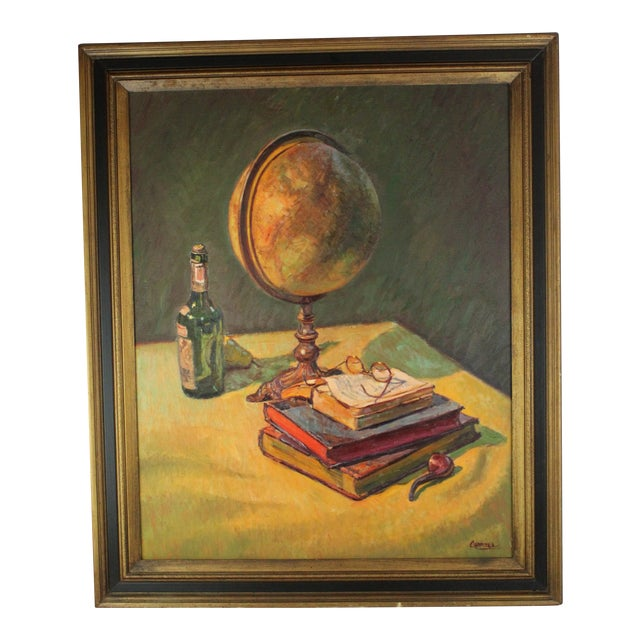 """Dreams of Travel"" Oil Painting by Foster Caddell For Sale"