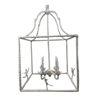 Dancing Chandelier With Four Lights For Sale