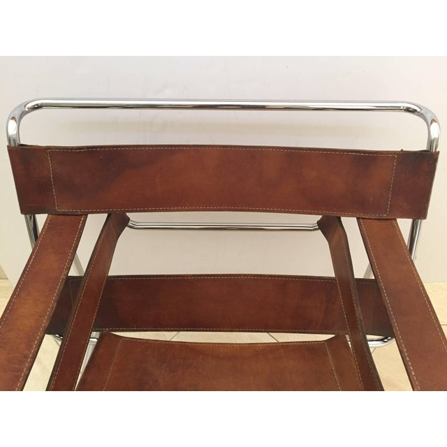 superb vintage early original marcel breuer wassily chair for knoll