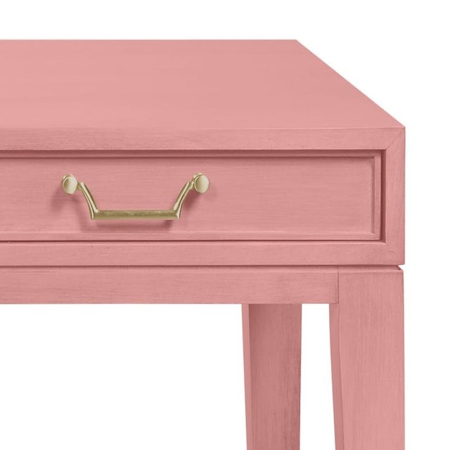 Please note this a made to order desk and takes 8+ weeks to make. Maple veneers and beeck in custom painted natural...