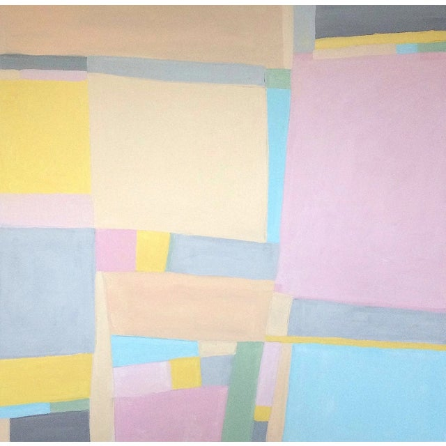 'Jane Says' Original Abstract Painting by Linnea Heide For Sale