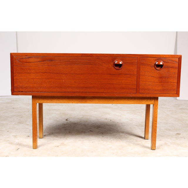 1960s Danish Modern Side Table - Image 2 of 5