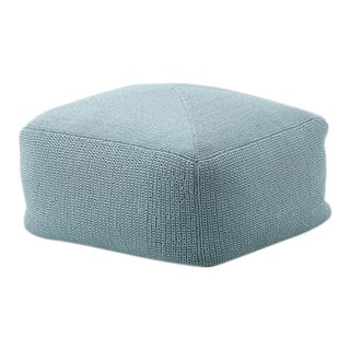 Cane-Line Divine Footstool, Turquoise For Sale