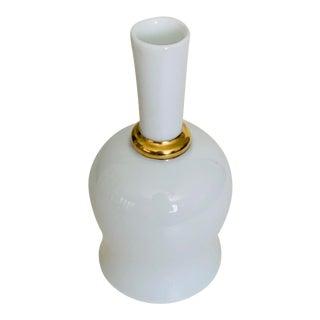 Bernardaud Capri Limoges Porcelain Modern Vase For Sale