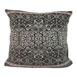 Icelandic Wool Pillow With Fairisle Pattern For Sale