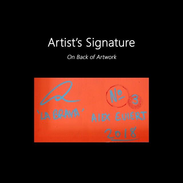 """""""La Brava No.3"""" Original Artwork by Alexander Eulert For Sale - Image 9 of 10"""