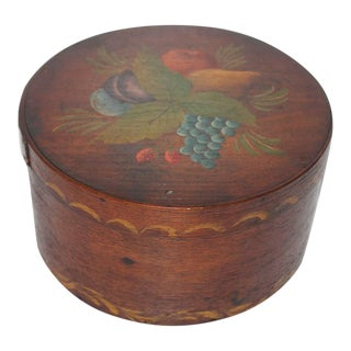 19th Century Original Painted Therom Style Pantry Box For Sale