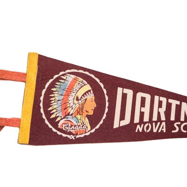 Dartmouth Nova Scotia Canada Felt Flag - Image 3 of 3