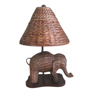 Vintage Used Boho Chic Table Lamps
