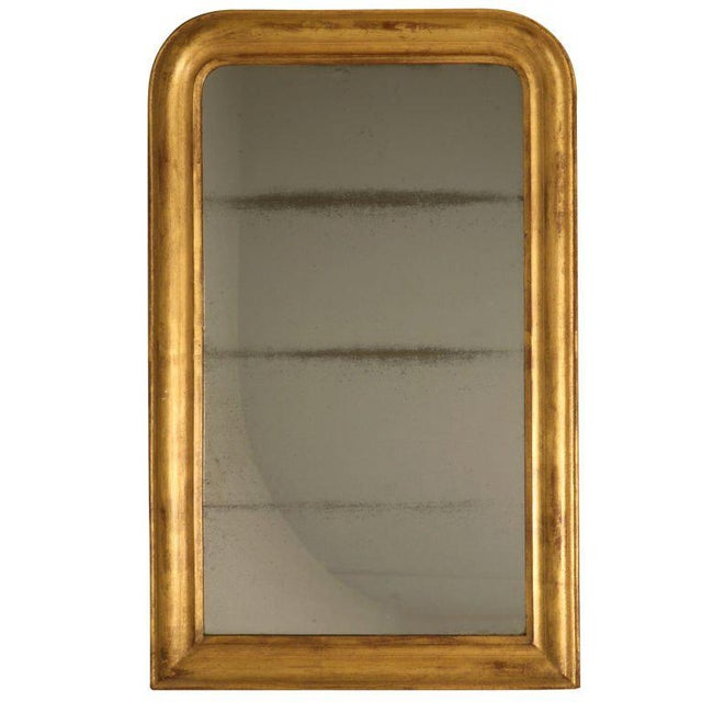 French Louis Philippe Gilt Mirror, Circa 1850 For Sale - Image 12 of 12