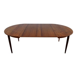 1960s Danis Modern Gudme Mobelfabrik Teak Dining Table For Sale