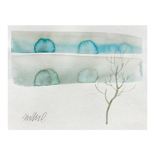 """Winters Dust"" Watercolor Painting For Sale"