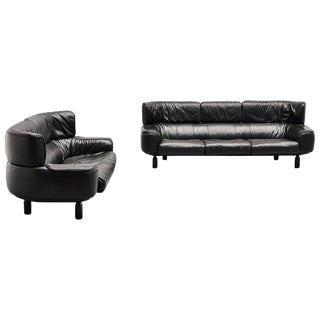 Gianfranco Frattini Bull Sofa Set Cassina, Italy, 1987 For Sale