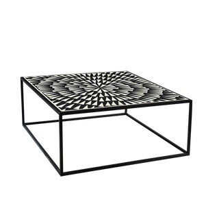 Vega Inlay Coffee Table For Sale