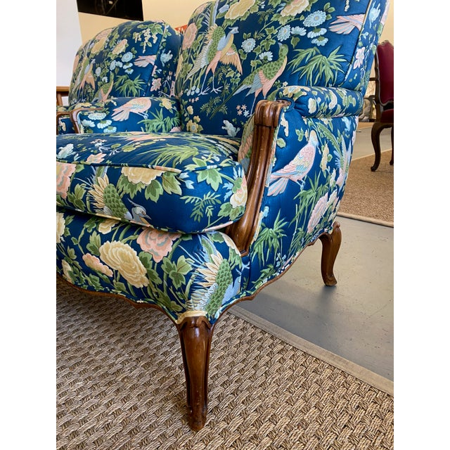Vintage Quilted Chairs and Ottoman - Set of 3 For Sale In Dallas - Image 6 of 10