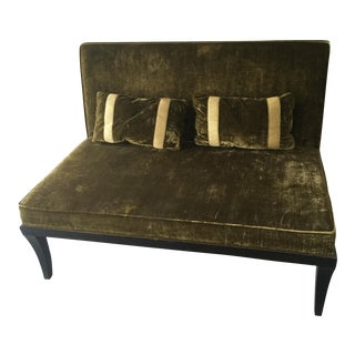 Green Silk Bench