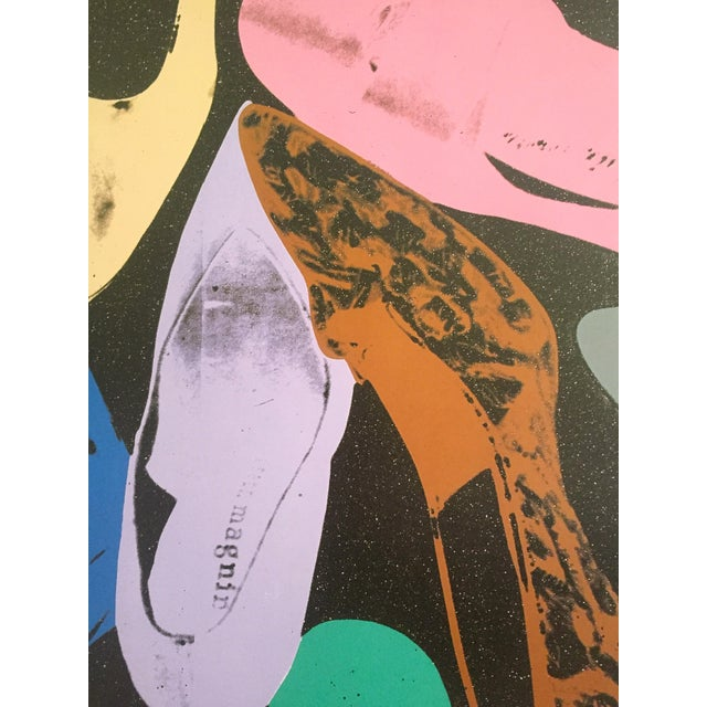 "Lithograph Andy Warhol ""Diamond Dust Shoes"" Offset Lithograph For Sale - Image 7 of 9"