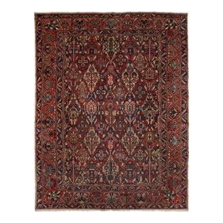"Bakhtiar Persian Rug, 10'5"" x 13'3"" feet"