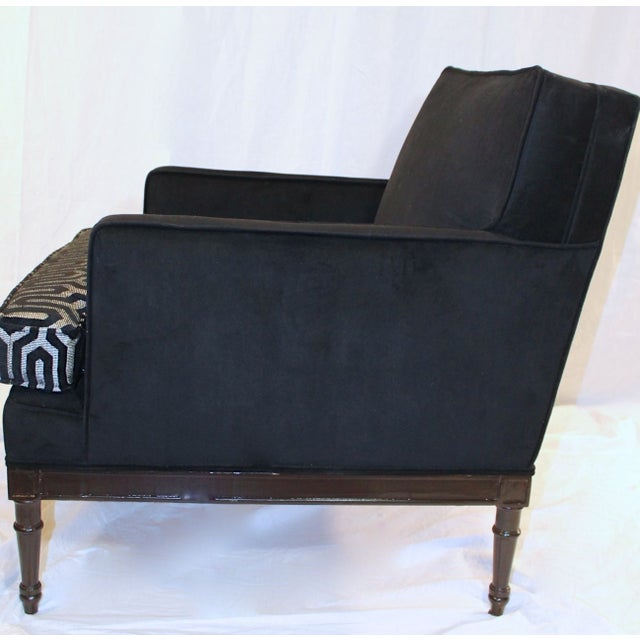 Vintage Mid-Century 1950s Club Chairs - A Pair For Sale In Houston - Image 6 of 7