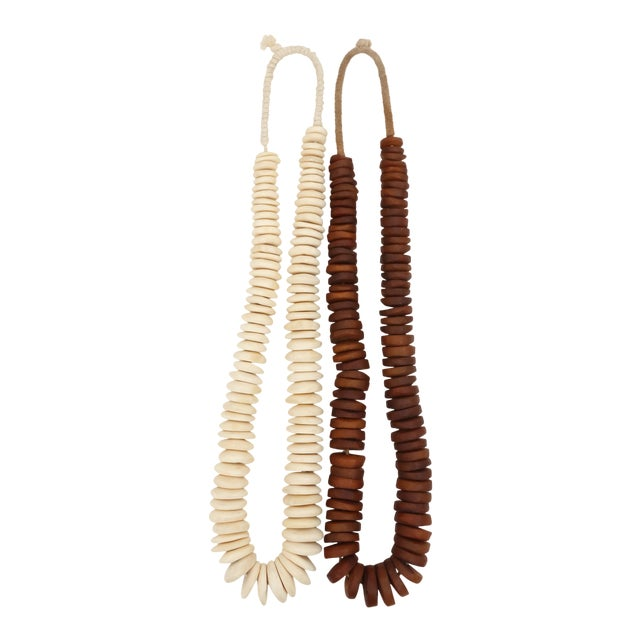 Beautiful Bead Strands - Set of 2 For Sale