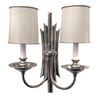 Deco Sconce For Sale