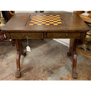 Maitland-Smith Leather Game Table Preview