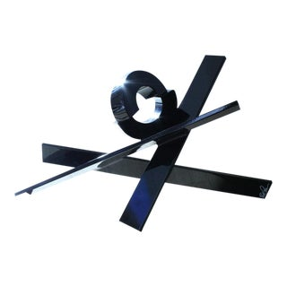 Sculpture by Rob Lorenson, Syosset Edition Black, 2010 For Sale