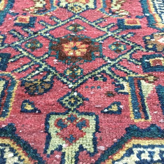 """Antique Persian Rug - 4'1"""" x 6'10"""" - Image 6 of 8"""