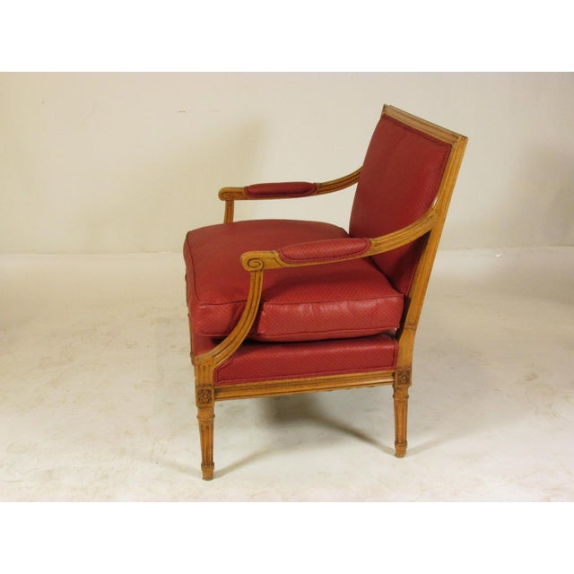 1960s Louis XVI Style Marquis Chairs - a Pair For Sale - Image 5 of 10