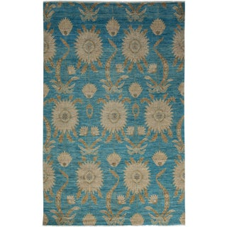 """Ziegler Hand Knotted Area Rug - 5'10"""" X 9'1"""""""