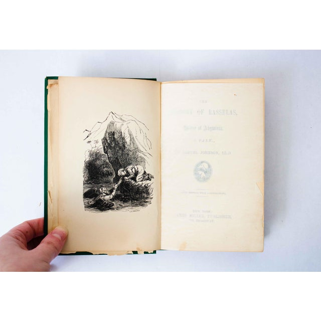 "Early 20th Century Antique Book, ""Rasselas"" For Sale - Image 5 of 9"