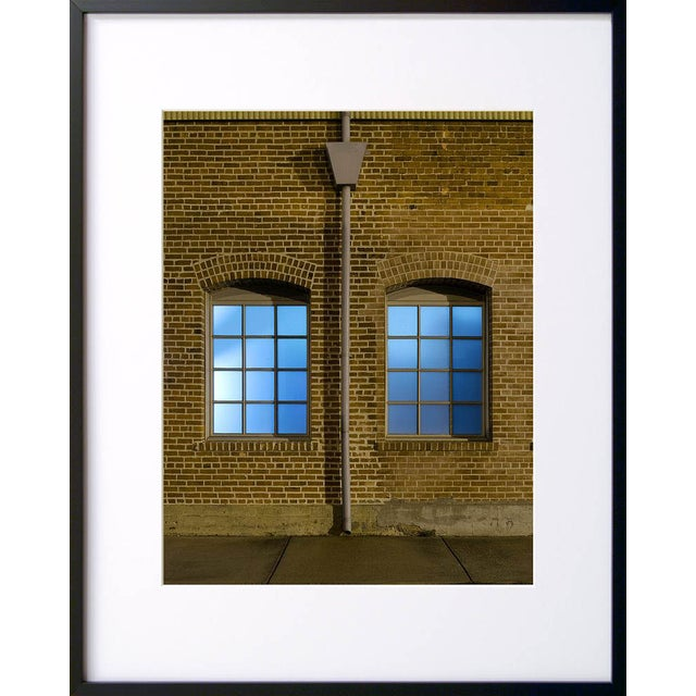 "Note from the artist, John Vias: ""What lies beyond these windowpanes?"" This 14"" x 11"" archival color photograph is..."