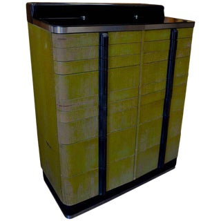 Bar/Storage Cabinet from Midcentury Dental Cabinet For Sale