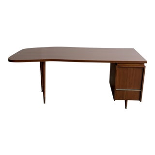 Mid Century L Shape Desk For Sale